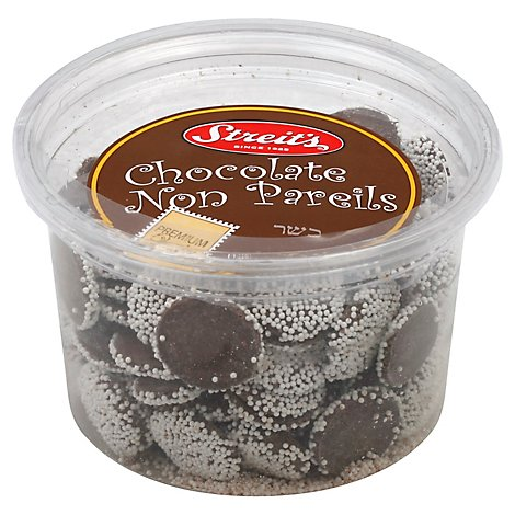 Streits Chocolate Non Pareils - 11 Oz