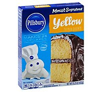 Pillsbury Moist Supreme Cake Mix Premium Yellow - 15.25 Oz