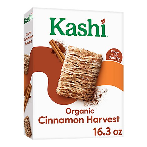 Kashi Breakfast Cereal Cinnamon Harvest - 16.3 Oz
