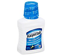Kaopectate Anti-Diarrheal Upset Stomach Reliever Multi-Symptom Relief Vanilla Regular - 8 Fl. Oz.