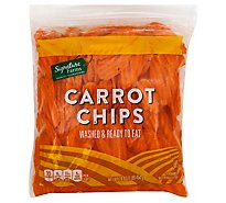 Signature Farms Carrot Chips - 16 Oz