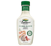 Bolthouse Farms Classic Ranch Yogurt Dressing - 14 Fl. Oz.