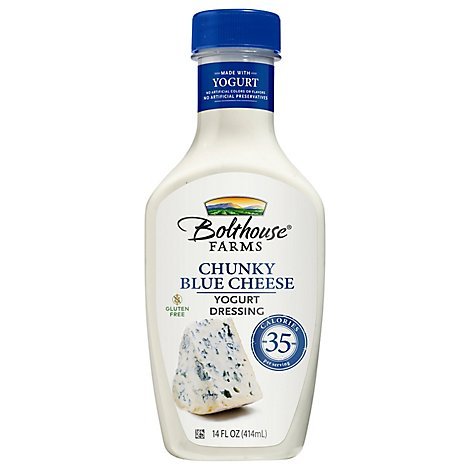 Bolthouse Farms Reduced Fat Chunky Blue Cheese Yogurt Dressing - 14 Fl. Oz.