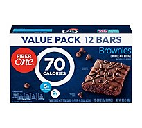 Fiber One Brownies 90 Calories Chocolate Fudge - 12-0.89 Oz
