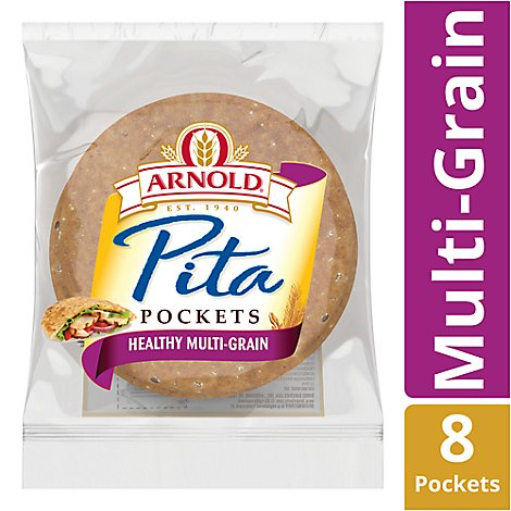Arnold/Oroweat Pocket Thins Flatbread Healthy Multi-grain 8 Count - 11.75 Oz.