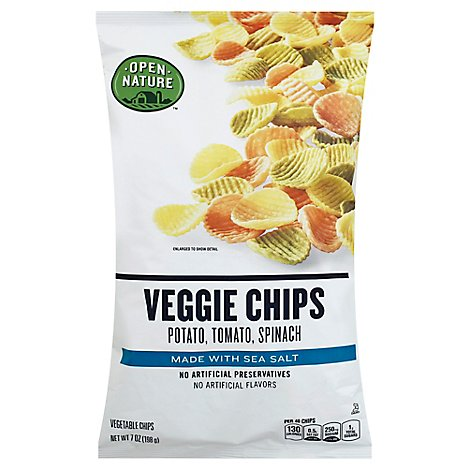 Open Nature Veggie Chips - 7 Oz