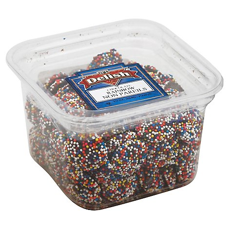 Its Delish Non Pareils Chocolate Rainbow - 10 Oz
