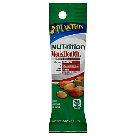 Planters NUT-trition Mens Health Recommended Mix - 1.5 Oz