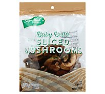 Signature Farms Mushrooms Crimini Brown Baby Bella Sliced - 10 Oz