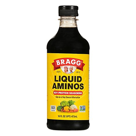 Bragg Liquid Aminos All Purpose Seasoning All Natural - 16 Fl. Oz.