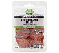 Open Nature Salami Uncured 100% Natural Genoa - 6 Oz