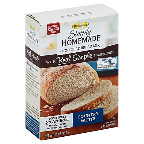 Fleischmanns Bread Mix Country White - 14 Oz