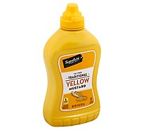 Signature SELECT Mustard Traditional Yellow Bottle - 14 Oz