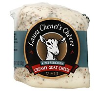 Laura Chenels Chevre Goat Cheese Chabis & Pepper - 5 Oz