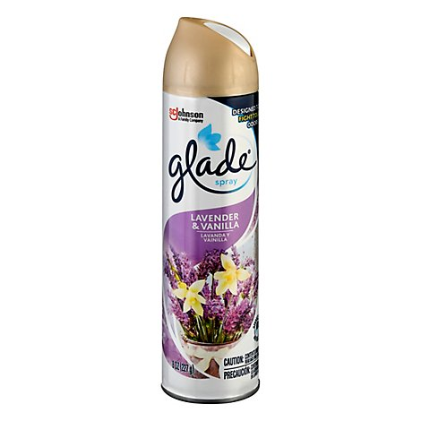 Glade Lavender & Vanilla Room Spray Air Freshener 8 oz