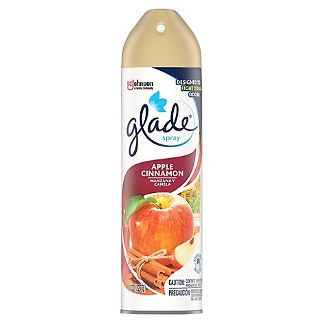 Glade Apple Cinnamon Room Spray Air Freshener 8 oz