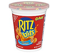 RITZ Crackers Sandwiches Bits Cheese Go-Paks! - 3 Oz