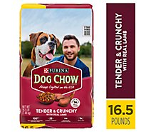 Dog Chow Dog Food Dry Tender & Crunchy Lamb - 16.5 Lb