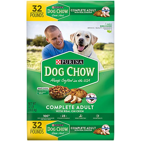 Dog Chow Dog Food Dry Complete Chicken - 32 Lb