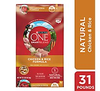One Dog Food Dry Smartblend Natural Chicken & Rice - 31.1 Lb
