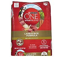 One Dog Food Dry Smartblend Lamb & Rice - 31.1 Lb