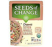 Seeds of Change Orgainc Rice Seven Whole Grains Pouch - 8.5 Oz