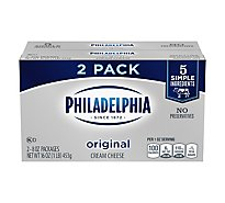 Philadelphia Cheese Cream Original Pack - 2-8 Oz