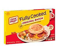 Oscar Mayer Fully Cooked Bacon Original - 2.52 Oz