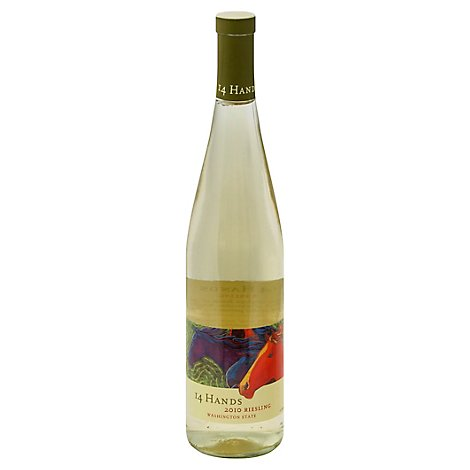14 Hands Wine Riesling - 750 Ml