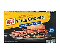 Oscar Mayer Bacon Fully Cooked Tick Cut - 2.52 Oz