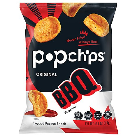 popchips Popped Chip Snack Barbeque Potato - 0.8 Oz