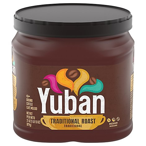 Yuban Coffee Premium Ground Medium Roast Traditional - 31 Oz