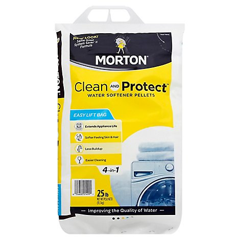Morton Clean and Protect Water Softener Pellets - 25 Lb