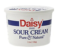 Daisy Sour Cream Pure & Natural - 48 Oz
