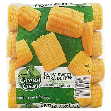 Green Giant Nibblers Corn On The Cob Mini Ears Extra Sweet - 12 Count