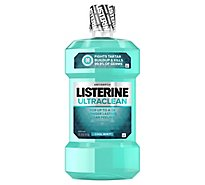 LISTERINE Ultraclean Mouthwash Antiseptic Cool Mint - 1 Liter