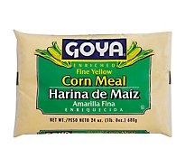 Goya Fine Corn Meal - 24 Oz