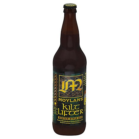 Moylans Kilt Lifter Scotch Ale Bottle - 22 Fl. Oz.