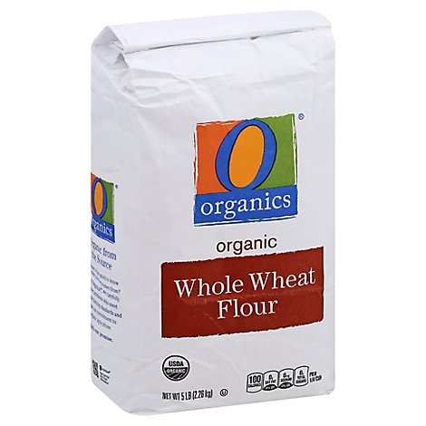 O Organics Organic Flour Whole Wheat Flour - 5 Lb