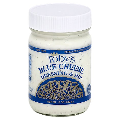 Tobys Dressing & Dip Blue Cheese - 14 Oz