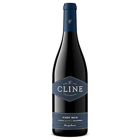 Cline Wine Pinot Noir Sonoma County - 750 Ml