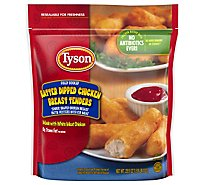 Tyson Fully Cooked Batter Dipped Chicken Breast Tenders 25.5 Oz Frozen