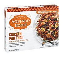 Saffron Road Frozen Entree Halal Chicken Pad Thai Medium Heat - 10 Oz