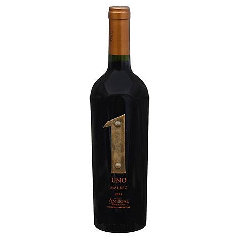 Antigal Uno Malbec Wine - 750 Ml