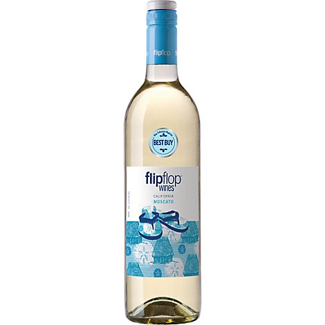 Flipflop Wine White Moscato - 750 Ml