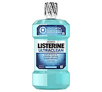 LISTERINE Ultraclean Mouthwash Antiseptic Arctic Mint - 500 Ml