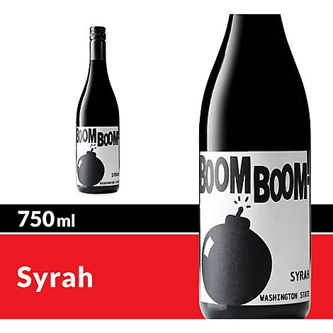 Boom Boom! Syrah Charles Smith Wines Red Wine - 750 Ml