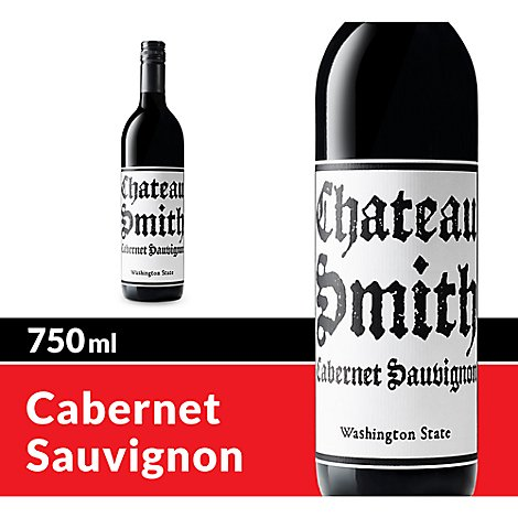 Chateau Smith Cabernet Sauvignon Charles Smith Wines Red Wine - 750 Ml