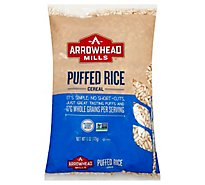 Arrowhead Mills Cereal Puffed Rice - 6 Oz