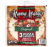 Mama Marys Pizza Crust Original Bag 3 Count - 12 Oz